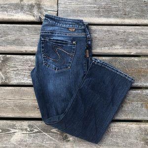 Silver Jeans Santorini Crop Capri Jeans